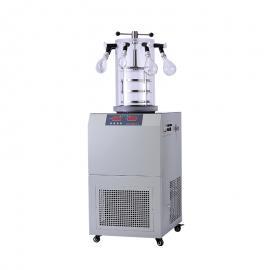 Leewen多歧管挂瓶压盖型电加热冷冻干燥机 冻干机FD-2D