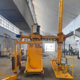 正景机械桥梁pvc排水管安装设备定制