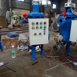 唐功电动反清洗反冲洗除污器 全自动立式L型刷式自清洗过滤器DN40-DN800