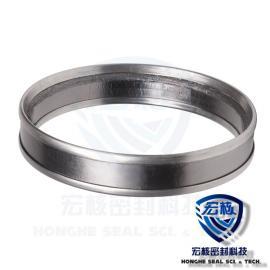 HONGHE Tcebu锈钢包边柔性石墨镍丝加qiang自密封RSB
