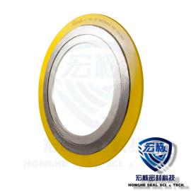HONGHE Tce HG/T20631内外环型金属缠绕垫 四氟/SS304不锈钢 D2232