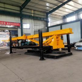 安捷机械360°旋转步履式螺旋钻孔机 建筑用步履螺旋引孔机 高质量打桩机AJ-QN