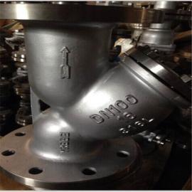 APIRT瑞通阀menY型法兰bu锈钢过滤器GL41W-16P-100P