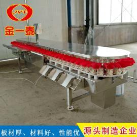 jinyi泰鲍鱼分xuan机设备 翻盘式重量分jian机 猕猴桃重量分xuan机0035