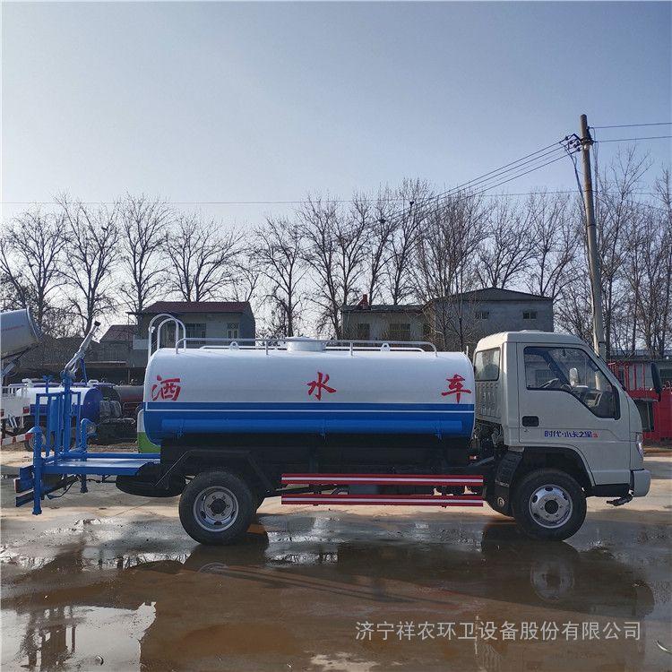 祥农园林绿化洒水车国六东风多利卡5立方雾炮洒水车