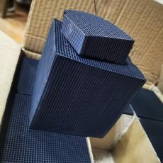 智恩牌高碘值耐水吸附性高砖块型蜂窝活性炭100*100*100