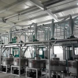 泰兴石磨面粉加工成套设备,全麦面粉加工生产线,石磨粉加工机器齐全