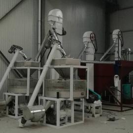 泰兴小型石磨面粉设备市场,两组石磨面粉机械,农作坊石磨打面机齐全