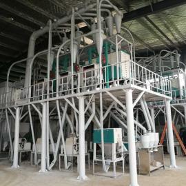 泰兴面粉机械设备农作坊,小型加工坊磨面机组齐全