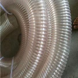 LONGWEI 龙威 软管公司直发 PU管 钢丝伸缩管 通风吸尘管可定制