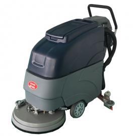 德克威诺环氧地坪瓷砖大理石水磨石地面清洗保洁用移动式电瓶拖地机LC19A