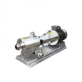 富瑞康三级高剪切乳化泵剪切泵均质泵管线式高速混合分散乳化机SRH-3