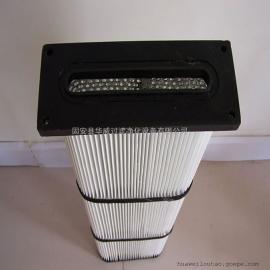 华威防静电除尘滤芯滤筒 可定制通用无纺布滤芯