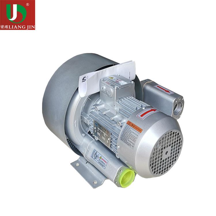 双段式高压旋涡风机 2.2KW双叶轮高压鼓风机现货--上海梁瑾机电设备有限公司