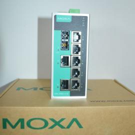 moxa摩莎工业以太网交换机EDS-108-M-SC