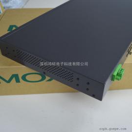 MOXA摩莎24口非网管型工业以太网交换机ES-1026