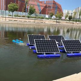 如克湖泊循环推流太阳能曝气机RSUN370-TL