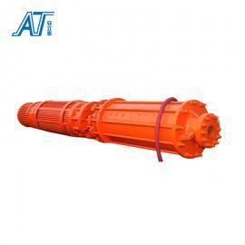 安泰矿用抢险专用防爆潜水排污排沙泵 6KV 10KV高压强排泵BQ1000-270/3-1600/W-S