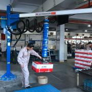 汉尔得气管吸吊机、VEL120-2.5纸箱搬运吸盘吊具、码垛吸盘机械手
