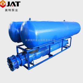 津奥特浮筒式潜水泵 效率高 噪音小 安装维修方便QF
