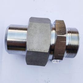GLT高品质不锈钢焊接式端直通高压接头JB966-28#