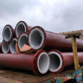 碳钢衬四氟管材DN100凯森管业