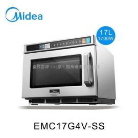 美的商用微波�t 餐��S�17L大容量�B�i店用EMC17G4V-SS