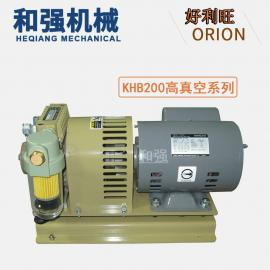 ORION好利旺真空泵KHB200A-101-G1高真空SMT贴标机用无油泵
