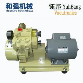 钰邦真空泵RV-25V-SS小型无油旋片式气泵 自动化吸盘0.75