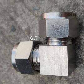 GLTT高品质不锈钢全系列卡套式直角液压接头GBT/3740-22#