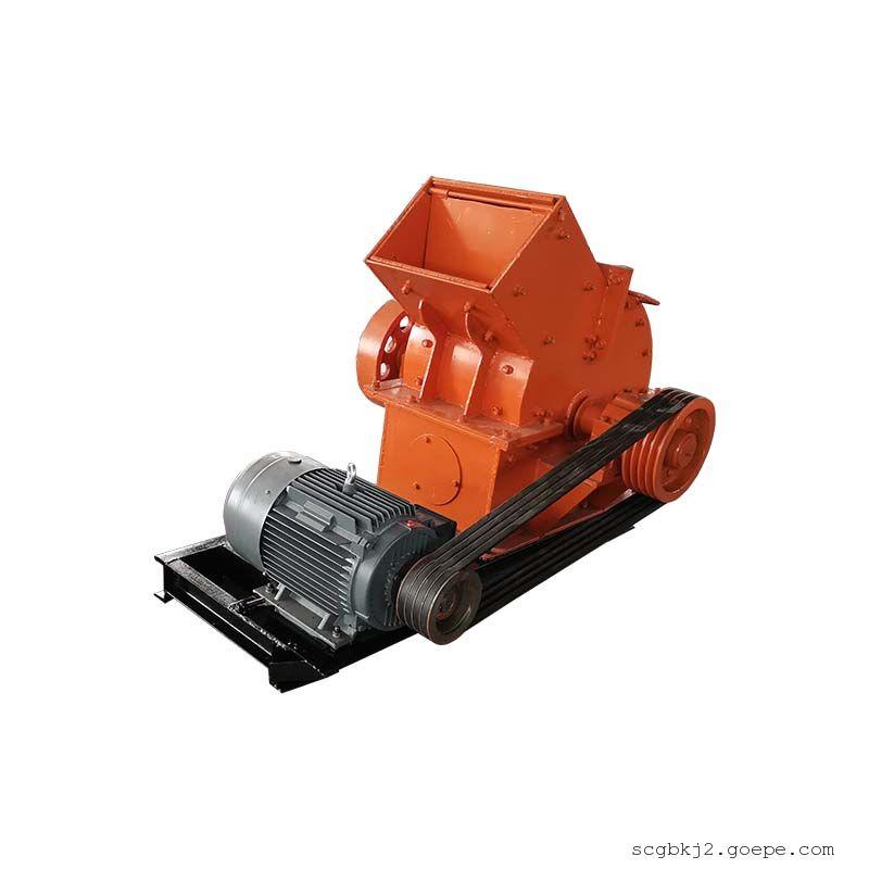 国邦PC-600*400锤式破碎机 建筑垃圾鹅卵石破碎机 锤式打砂机 砖块水泥制砂机