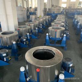 汉ting机械SS754-1200大型不xiu钢脱水机/工业甩干机/食pin蔬cai离心机
