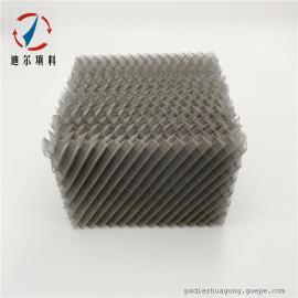 迪尔填料丝网波纹规整填料304、316L材质精细化工精馏塔BX500、CY700、1000Y