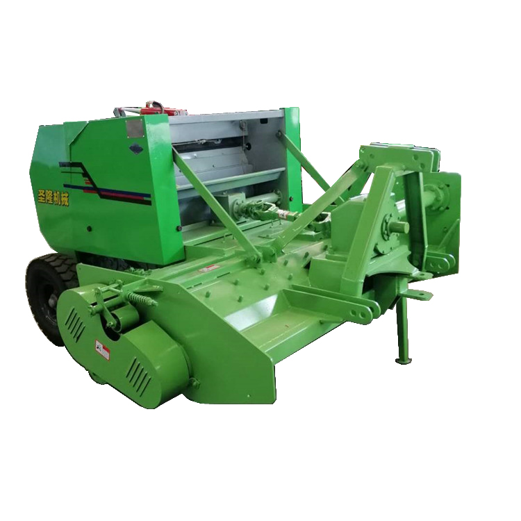 南方试用收割稻草粉碎打捆机