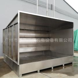强鑫工厂直供可移动带盆水帘柜QX