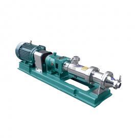 富瑞康/不�P�螺�U泵��{泵蜂蜜�u料米�{糖�{�送泵污泥�温�U泵G