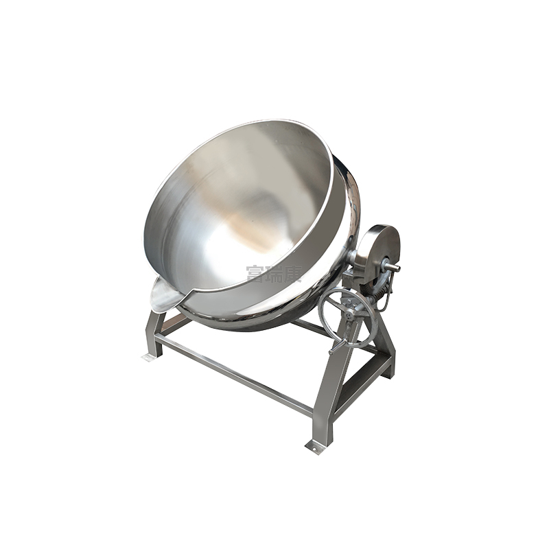 富瑞康不锈钢可倾式夹层锅化糖锅炒锅汤锅熬糖锅蒸煮锅JCG