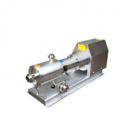 富瑞康卫生型三级均质乳化泵管线式高剪切分散乳化机混合剪切泵SRH-3
