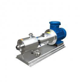 富瑞康防爆三级高剪切均质乳化泵管线式高剪切分散乳化机剪切均质泵SRH-3
