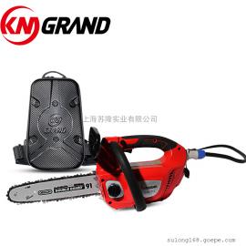 KM GRAND 48V充电式家用小型单手锯 充电手持电锯 木工锯