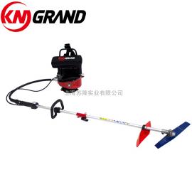 KM GRAND背负式草坪割草机 除草机 便携式电动割灌机 48V