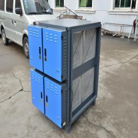 玖翔LJDY-20A热处理淬火高效油烟净化cheng套设备