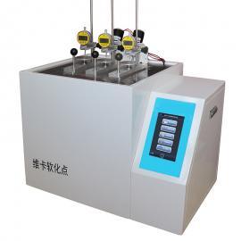 塑胶尼龙热变形维卡软化点温度测定仪WKST-A1 群弘仪器