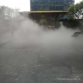 锦名朗景观石pen雾造景xitong