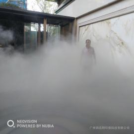 锦名朗公园景区人造雾工程JML-KUT
