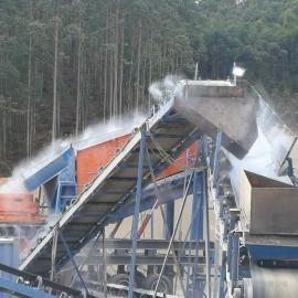 锦名朗加油站高压喷雾加湿降尘降温设备JML-KUT