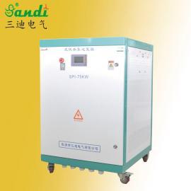 沙漠治理光伏灌溉75KW�P水逆�器