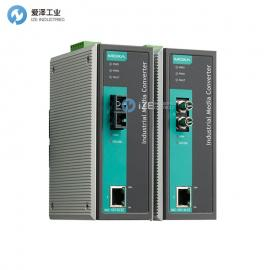 MOXA以太�W�D光�w�D�Q器IMC-101-M-ST