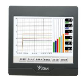 YUDIAN宇电分体式无纸记录仪7寸真彩触摸屏免组态AI-3170