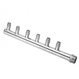 田野不锈钢分集水器定制螺纹法兰快装焊接多种样式TYFSQ